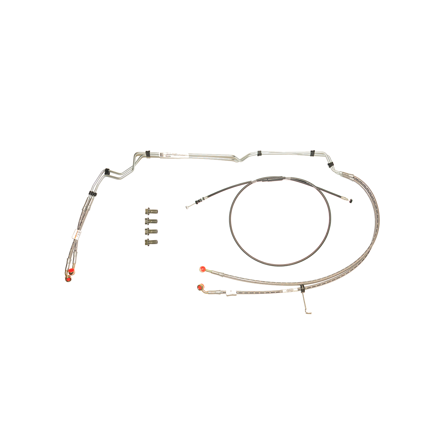 Clutch Cable and ABS Brake Line Kit
