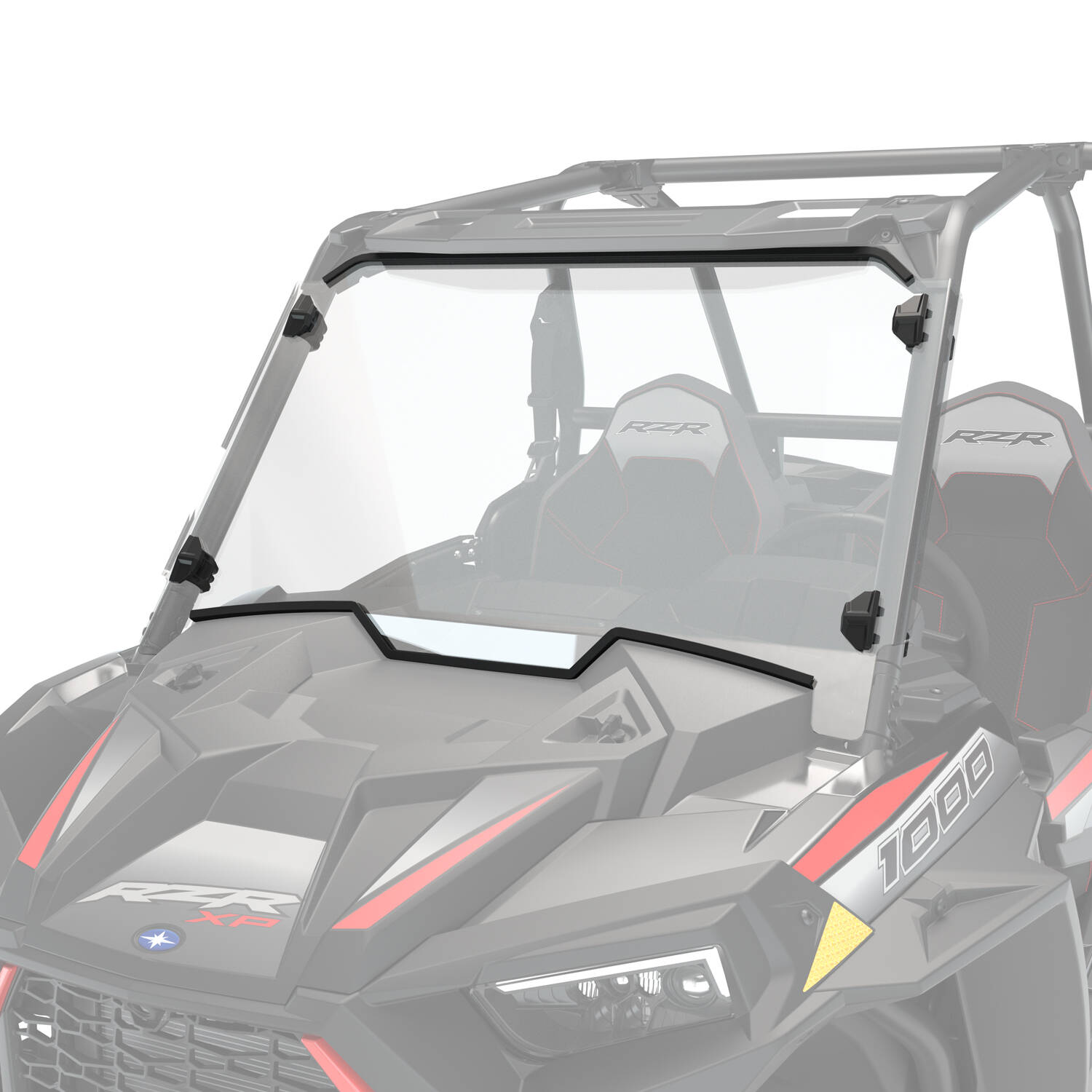 Polycarbonate Full Windshield, Clear