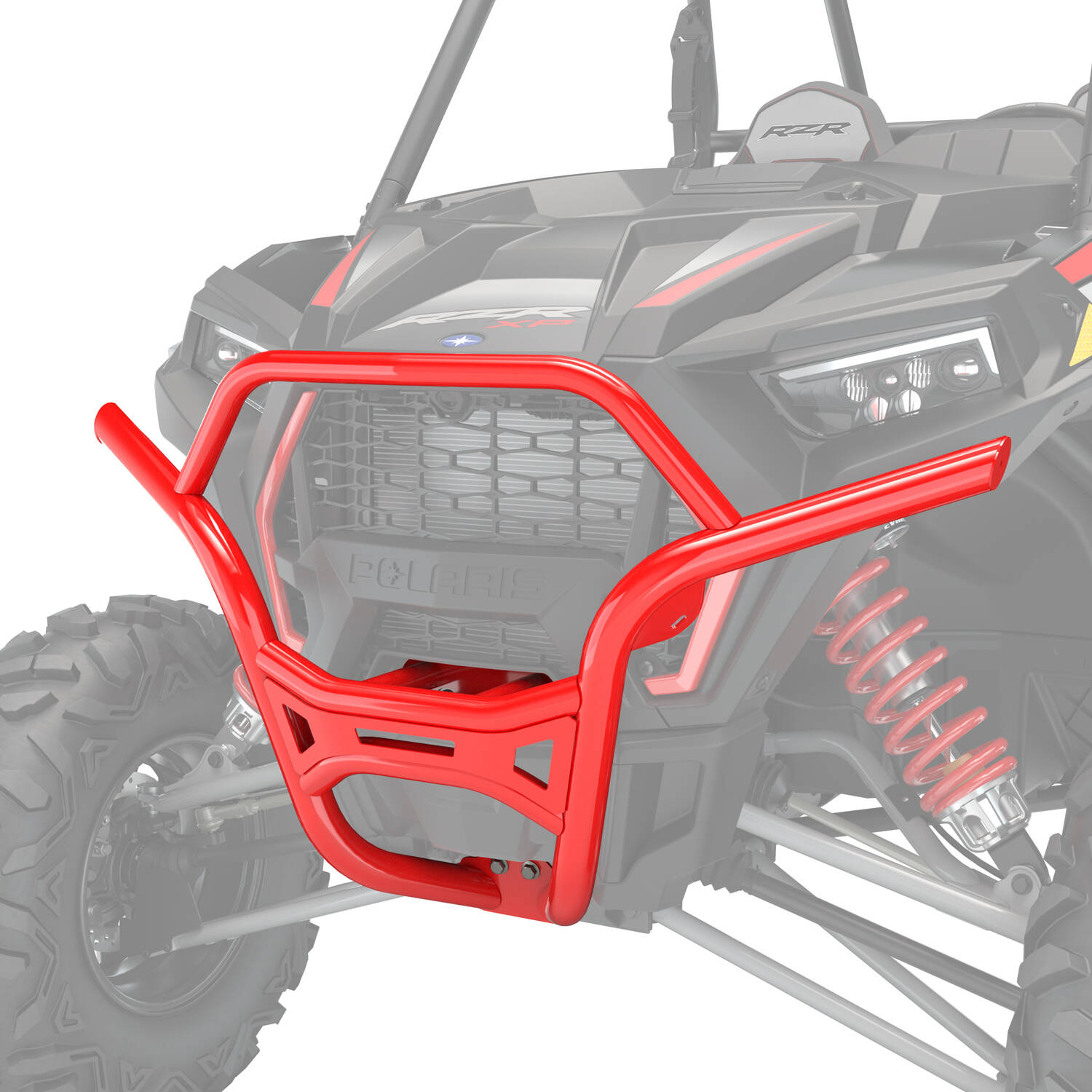 Desert Bumper - Front - Indy Red