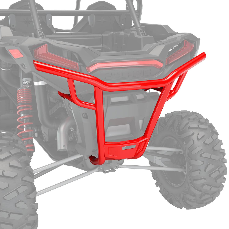 Desert Bumper - Rear - Indy Red