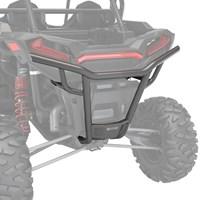 Rear Low Profile Bumper, Matte Titanium Metallic