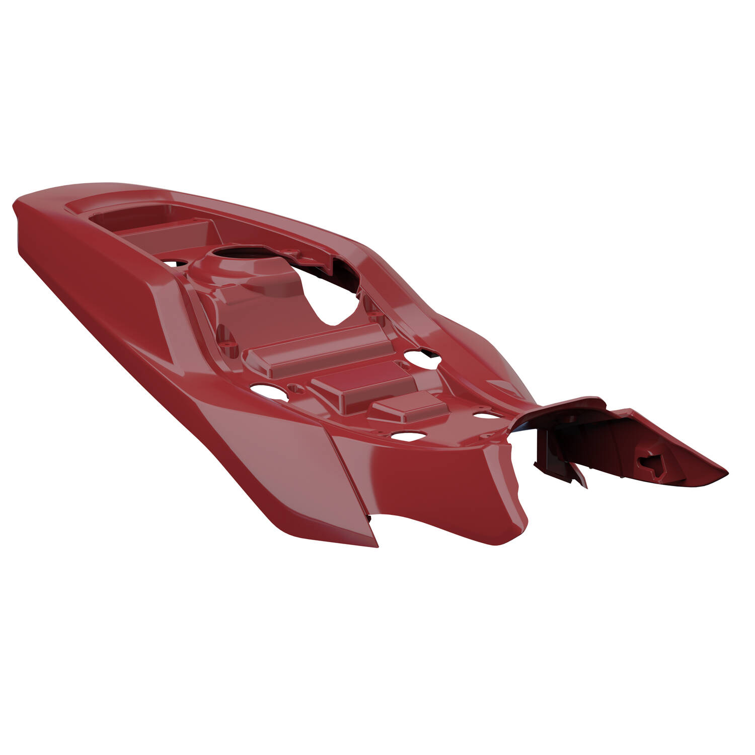 Tracker Seat Base Cowl - Indian Motorcycle® Red