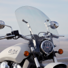 Polycarbonate 24 in. Quick Release Windshield, Chrome - Image 4 of 4