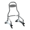 12 in. Universal Quick Release Passenger Sissy Bar, Chrome - Image 1 of 5
