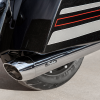Stage 1 Oval Slip-On Muffler Kit - Chrome - Image 2 of 6