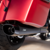Stage 1 Oval Slip-On Muffler Kit - Matte Black - Image 2 of 6