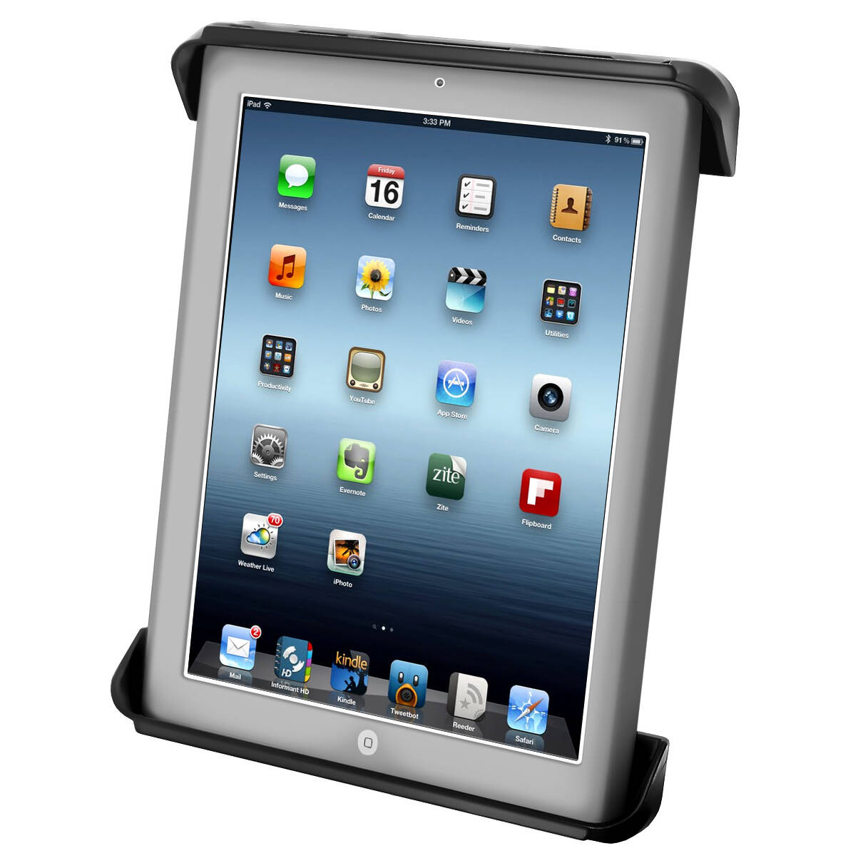 RAM® Tab-Tite™ Drill-Down Mount for Apple iPad 1-4 + More