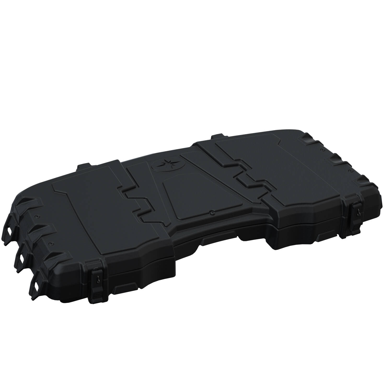 50 lb. Capacity Lockable Front Cargo Box, Black