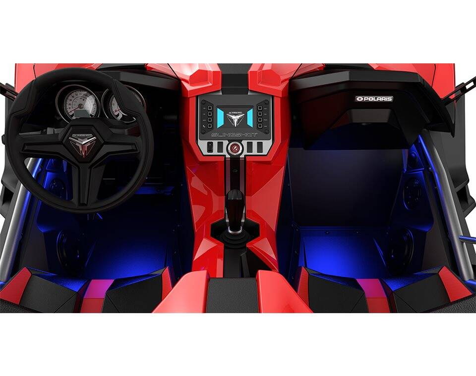 interior led lighting kit blue polaris slingshot. Black Bedroom Furniture Sets. Home Design Ideas