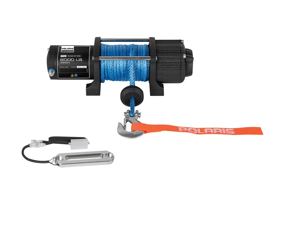 Polaris® Pro HD 6,000 lb. Winch