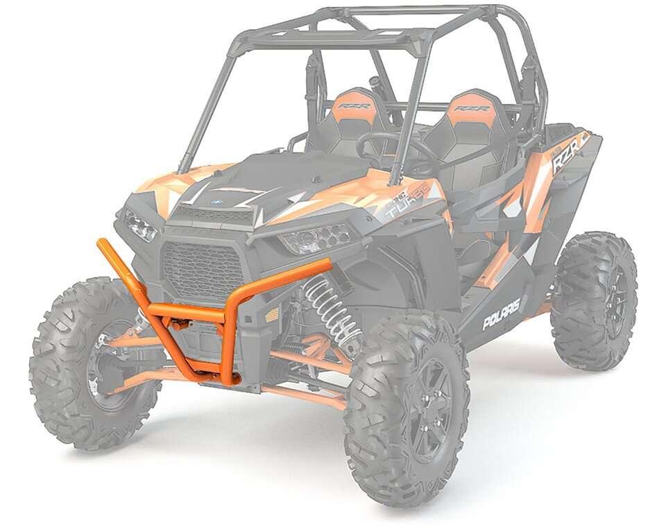 Front Low Profile Bumper- Spectra Orange