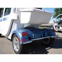 GEM® Chrome Rear Bumper by Polaris®