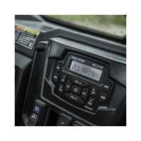 "Bluetooth®, Apple® Control, AM/FM Dash Stereo & 2 X 5.25"" Speakers by MB Quart®"