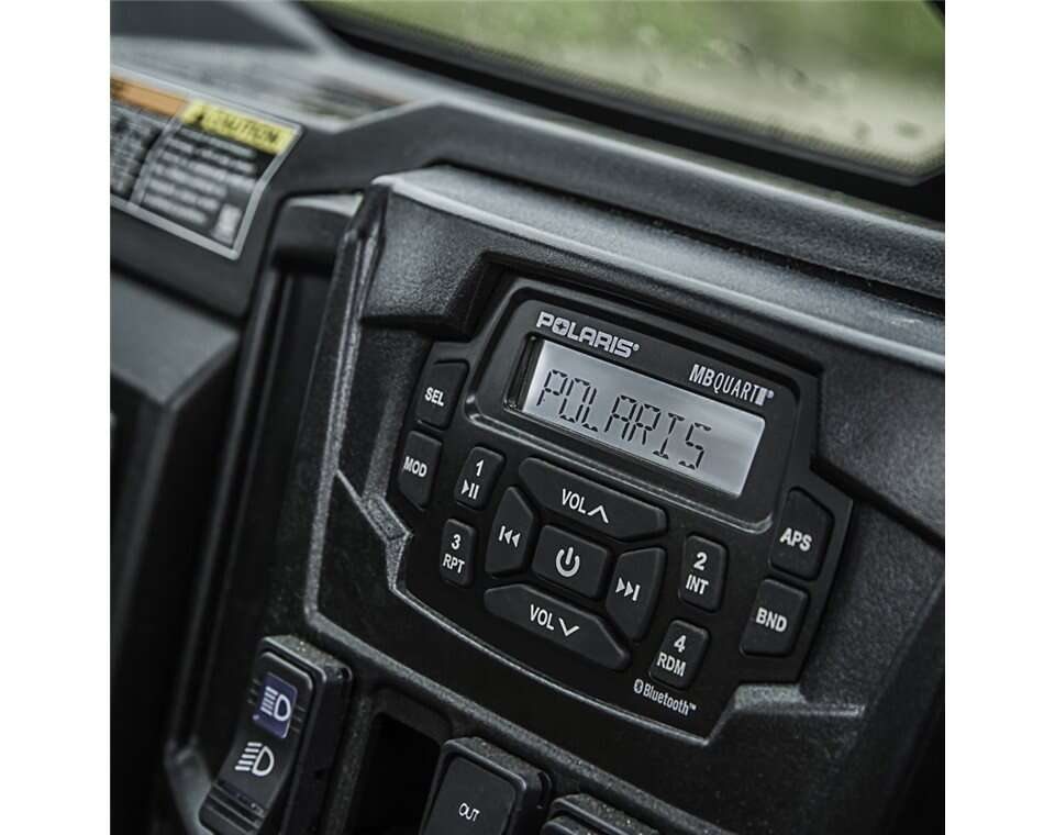Dash Mounted Audio Kit Polaris Ranger
