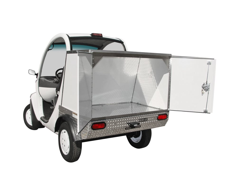 Enclosed Cargo Carrier