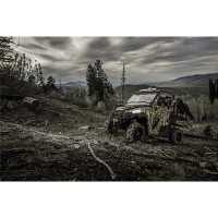Zip Window Rear Doors - Canvas -  Polaris Pursuit® Camo