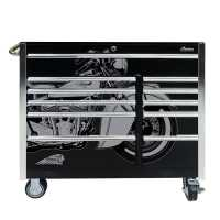 """11-Drawer Iconic Ride Roller Cabinet - 41"""""""