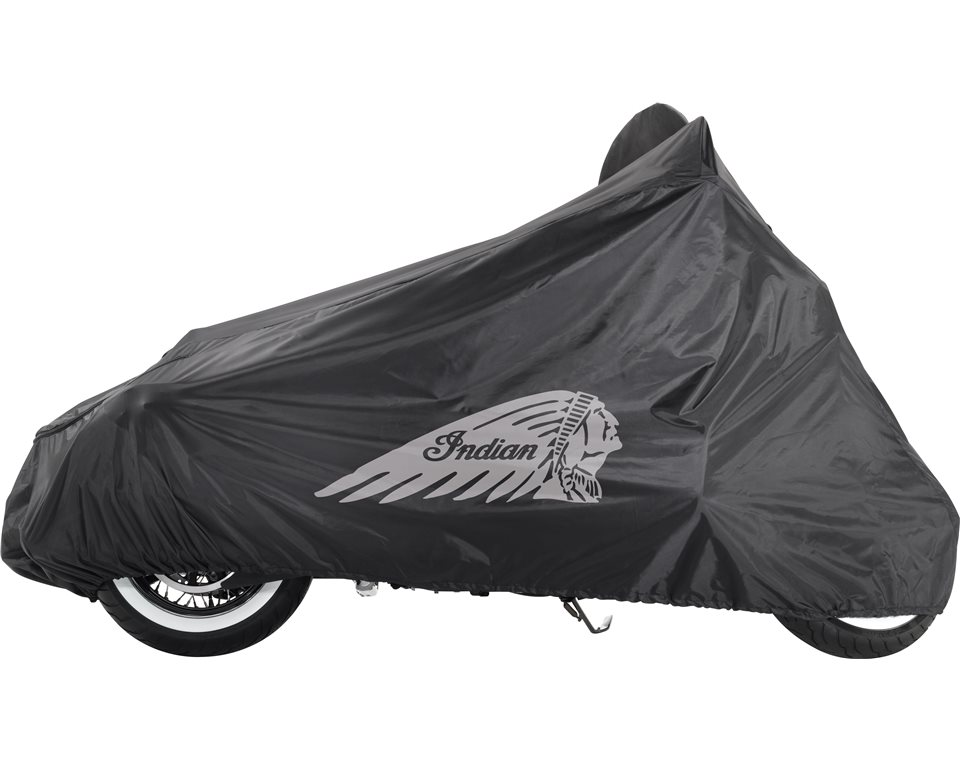 Indian motorcycle chief all weather cover indian for Housse moto custom