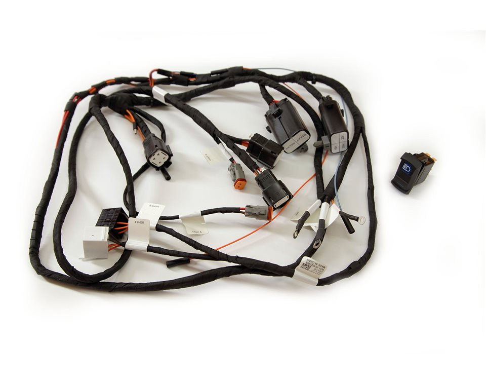 ultimate harness polaris rzr