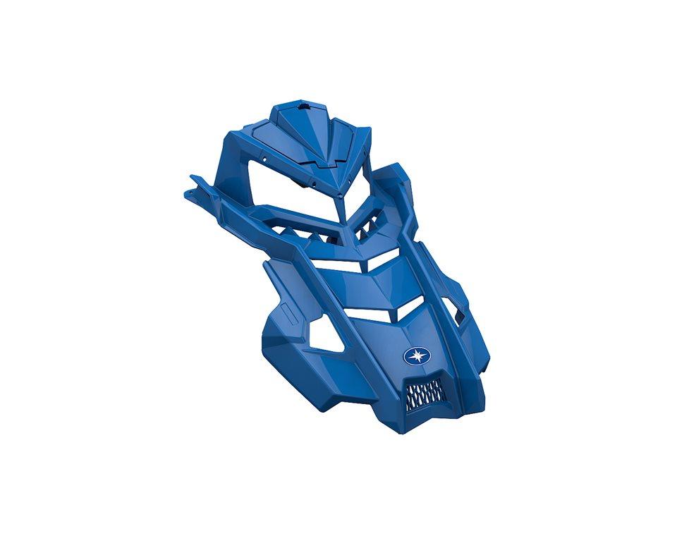 Painted Hood - Velocity Blue