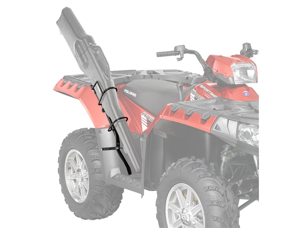 Lock ride gun boot mount by polaris black polaris sportsman publicscrutiny