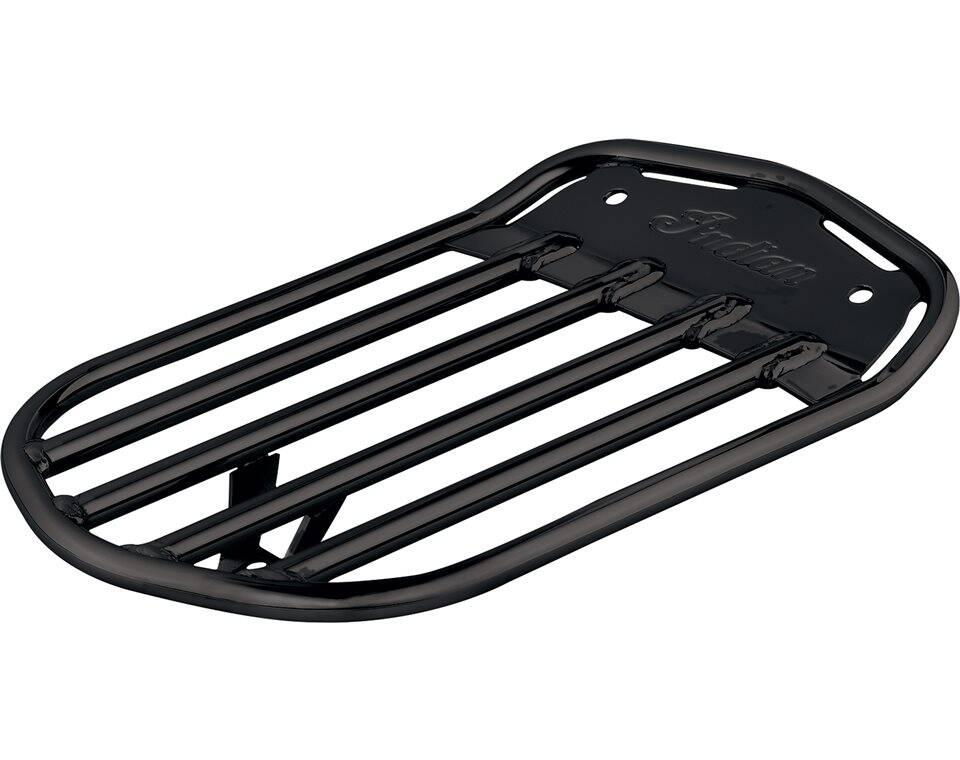 Pinnacle Solo Luggage Rack - Gloss Black