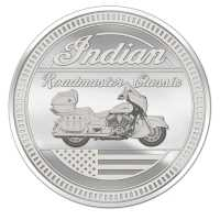 Commemorative Coin by Indian® Motorcycle - Roadmaster Classic
