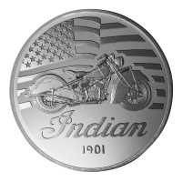Commemorative Coin - 1947 Indian Chief
