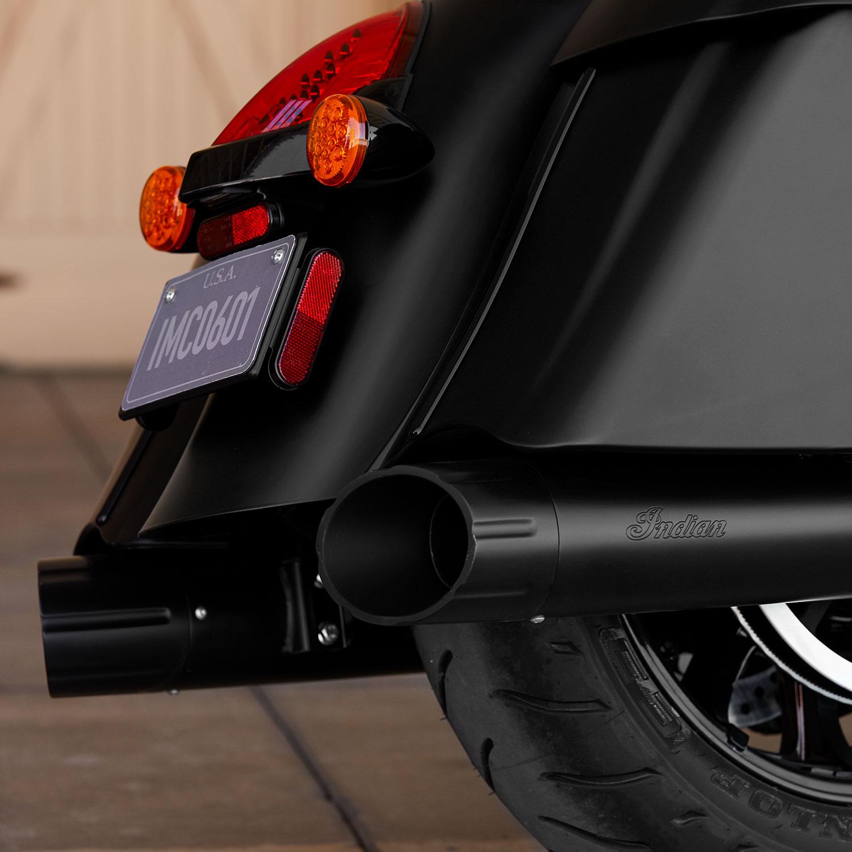 Thunder Stroke® Stage 1 Slip-On Exhaust Kit - Matte Black