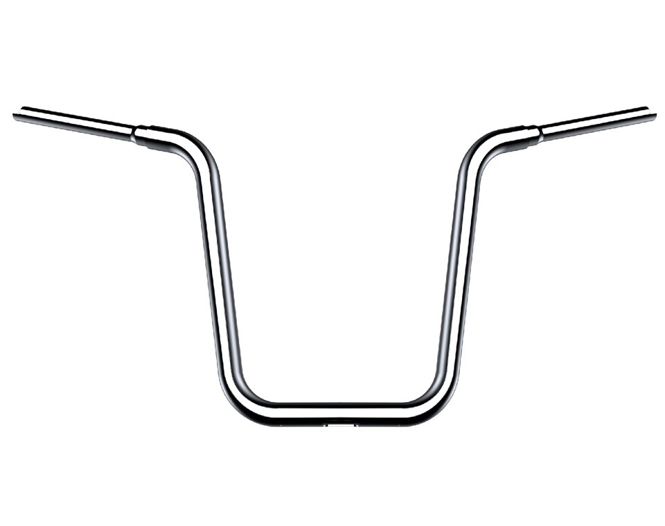 "16"" Ape Hanger Handlebar Kit - Polished Stainless"