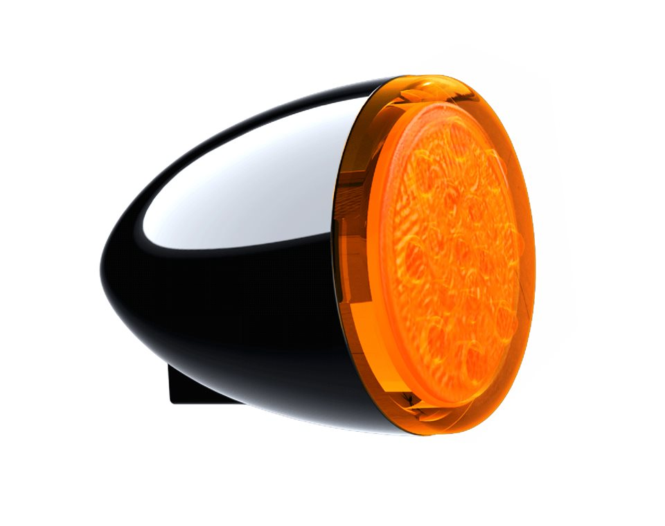 Front Turn Signals - Gloss Black