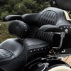 Genuine Leather Passenger Armrest Pads in Black, Pair - Image 3 de 6