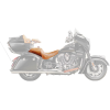Genuine Leather Touring Heated Seat, Desert Tan - Image 3 of 4