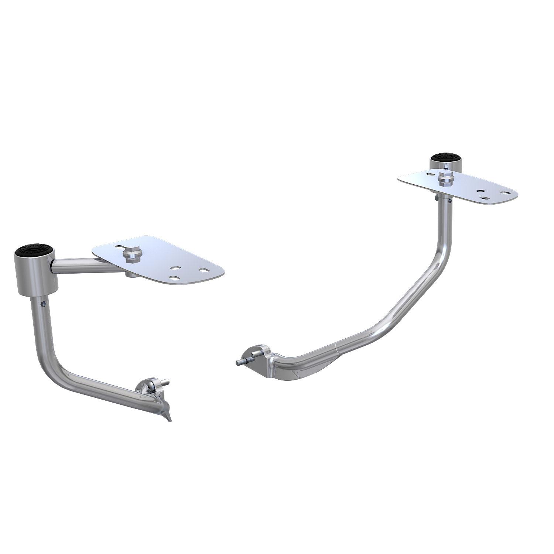 Armrest Support Kit - Chrome