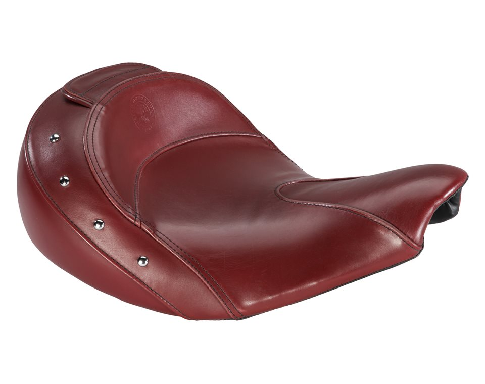 Genuine Leather Seat - Red