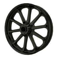 """19"""" 10-Spoke Front Wheel Kit - Cruiser Black"""