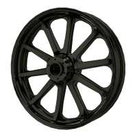 "19"" 10-Spoke Front Wheel Kit - Black"