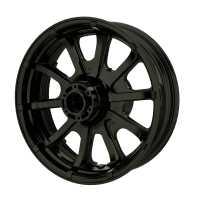 """16"""" 10-Spoke Rear Wheel - Cruiser Black"""