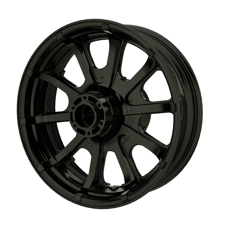 """16"""" 10-Spoke Rear Wheel - Black"""