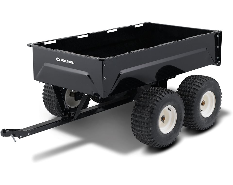 Tandem Axle Metal Utility Cart Polaris Atv