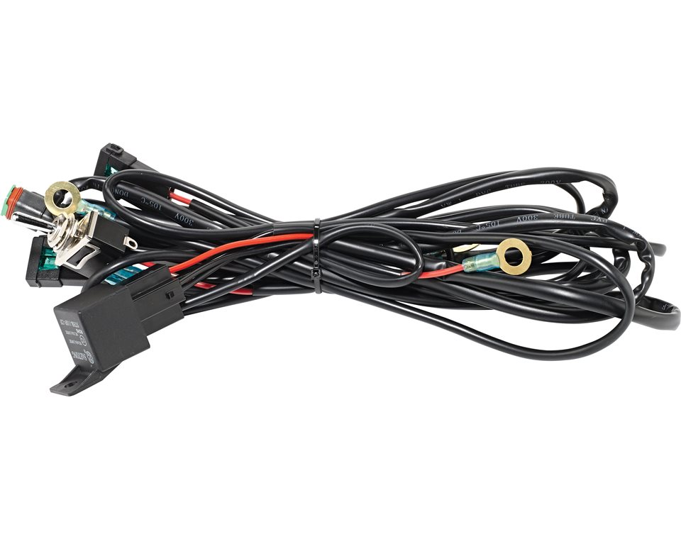 universal led lightbar harness