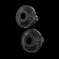 Headlight Bezel Bolt Kit - Black