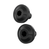 Headlight Bezel Bolt Kit, Black - Image 1 de 1