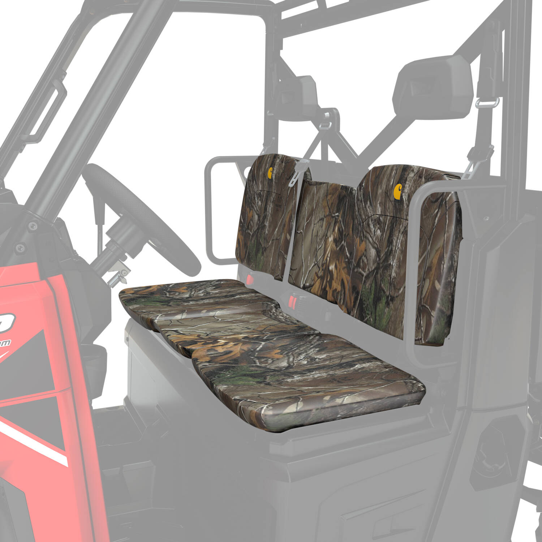 Realtree CAMO Split Bench SEAT and Back Polaris Ranger XP Full Size SEATSAVER Cover