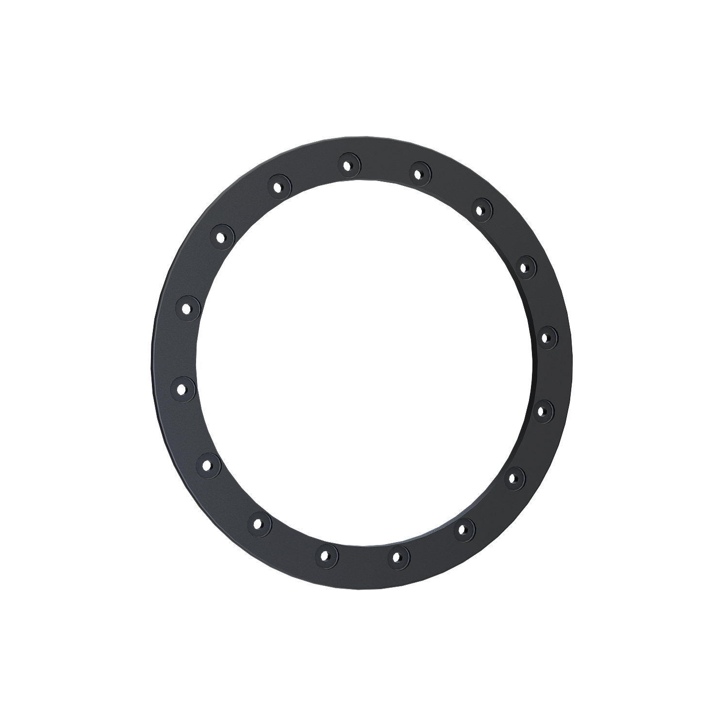 Pro Armor® Replacement Forged Beadlock Ring - Matte Black - 14""