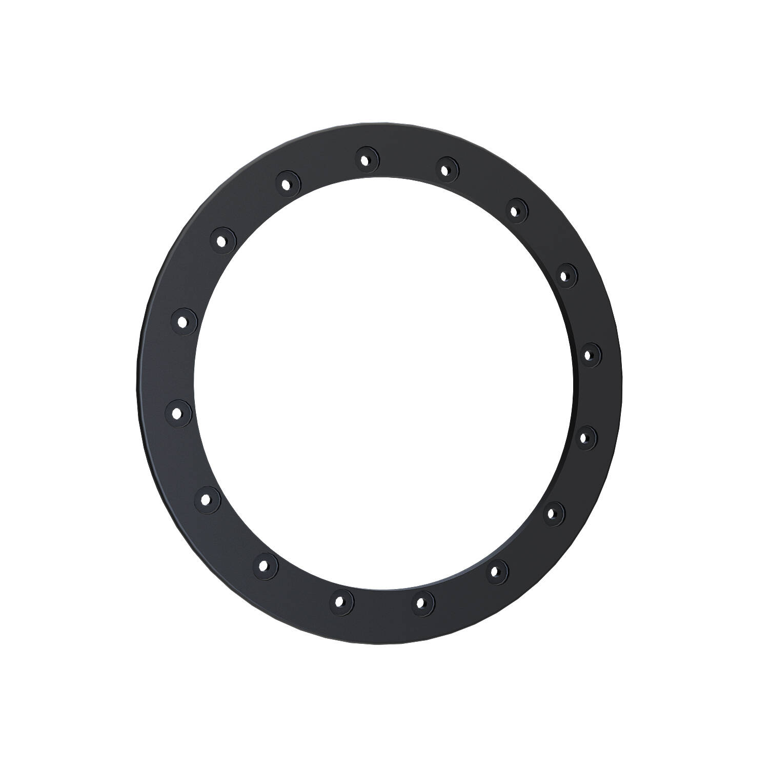 Pro Armor® Replacement Forged Beadlock Ring - Matte Black - 15""