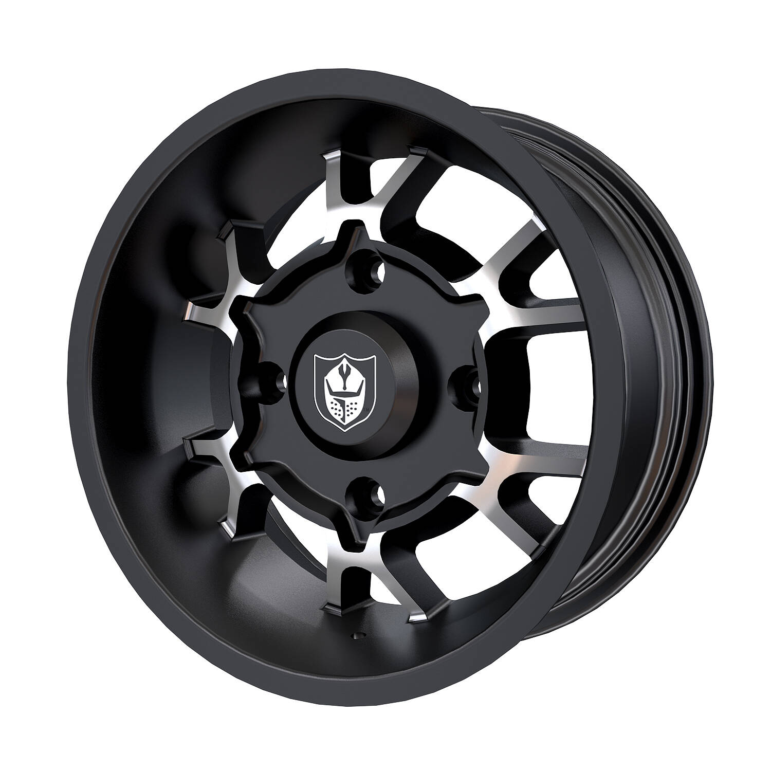 Pro Armor® Cyclone Wheel, Accent Front/Rear R15