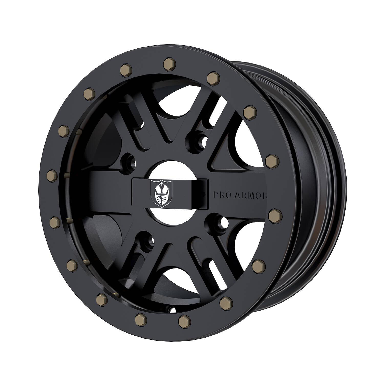 "Pro Armor® Wheel: Combat - Matte Black - 14"""