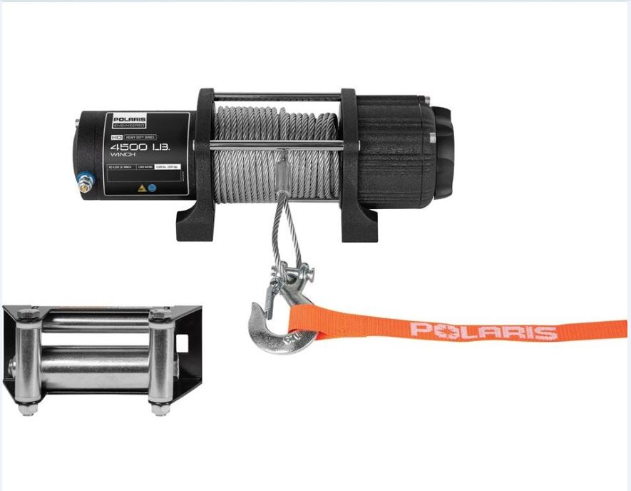 Polaris® HD 4,500 Lb. Winch