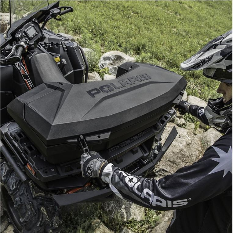 Lock ride rear cargo box polaris sportsman publicscrutiny Images
